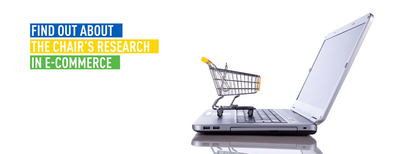 Find out about the chair's research in e-commerce